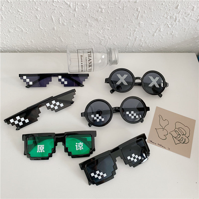 """SOCIAL PEOPLE"" CREATIVE SUNGLASSES S020801"