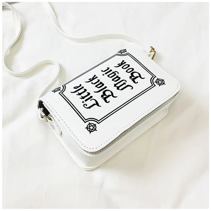 """LOLITA GRIMOIRE MAGIC BOOK"" CROSSBODY BAG W110102"