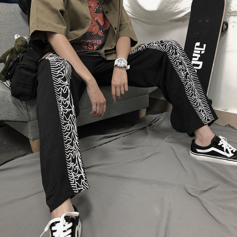 """STRAIGHT-LEG PANTS"" SLACKS S031104"