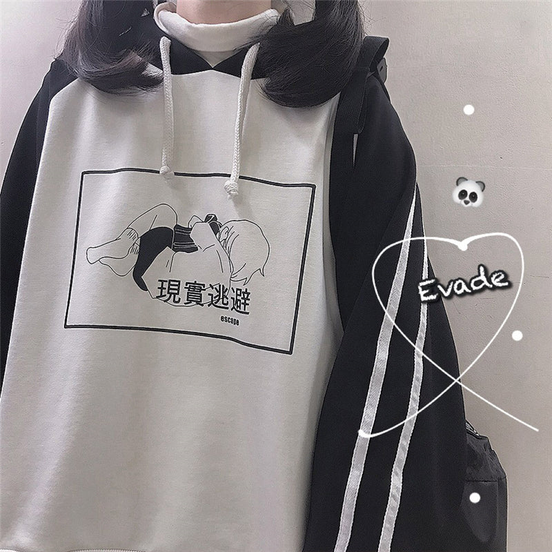"""ESCAPE FROM REALITY"" HOODIE W110601"