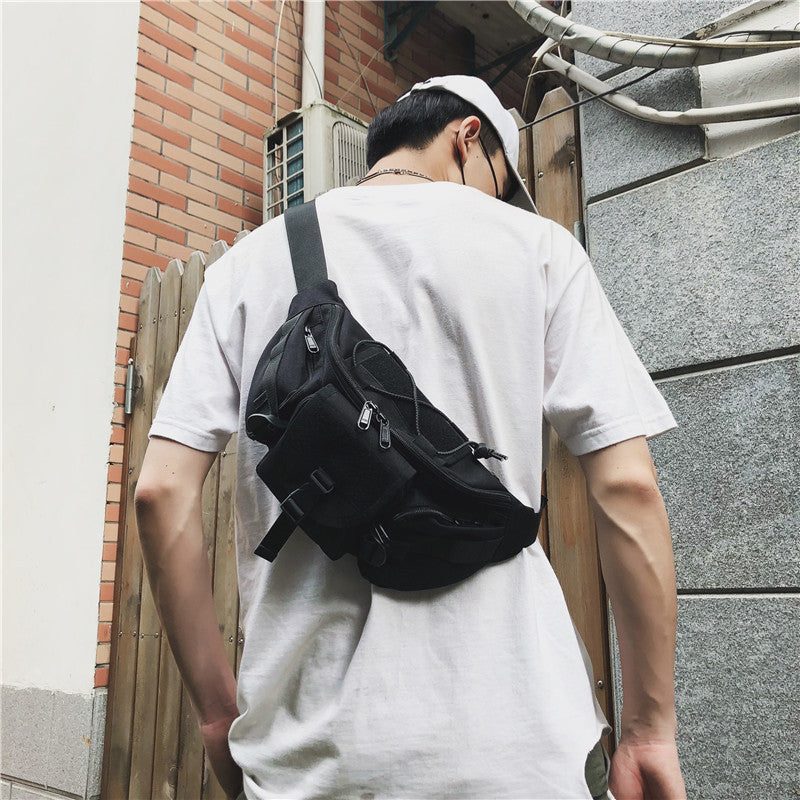 """Locomotive reflective strip"" CROSSBODY BAG W110604"