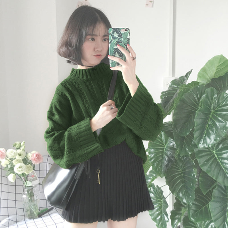 """HARAJUKU & LOOSE"" SWEATER W102602"