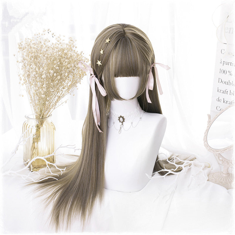 "[@rudskayadaria] ""CUTE LOLITA"" LONG WIG S020806REVIEW"