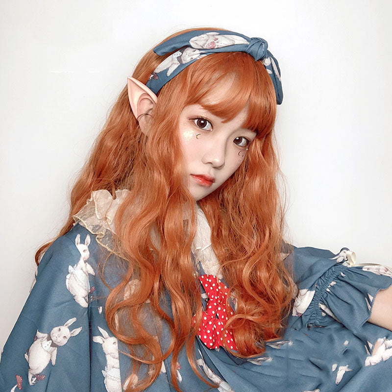 """LOLITA PUMPKIN LONG CURLY"" WIG N090901"