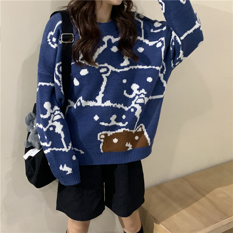 """BEAR"" SWEATER N011302"