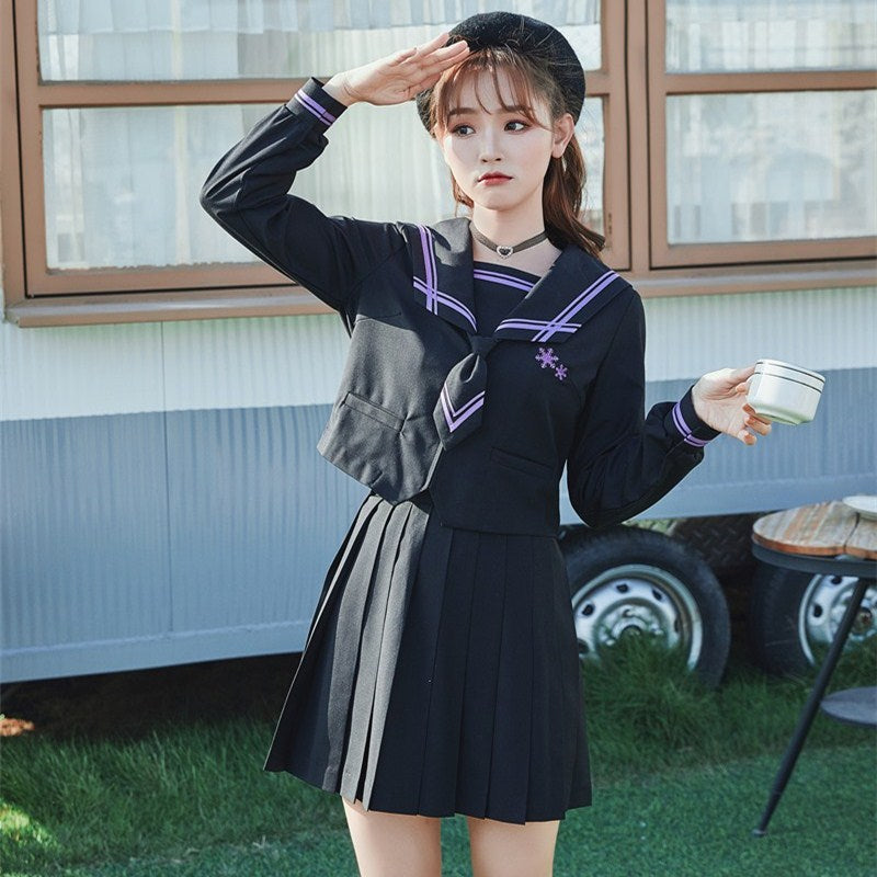 """DARK GIRL JK SAILOR UNIFORM"" SET N082701"