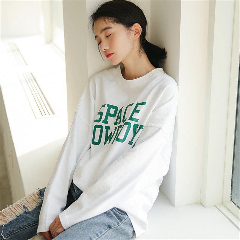 """SPACE COWBOY""LONG SLEEVES W010446"