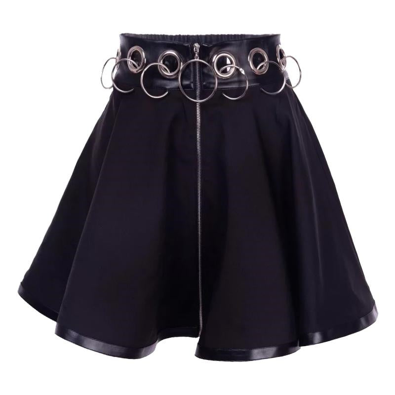 "[@thewitchofhorrorx] ""PUNK RING"" SKIRT W010421REVIEW"