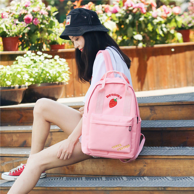 """STRAWBERRY""BACKPACK W010505"