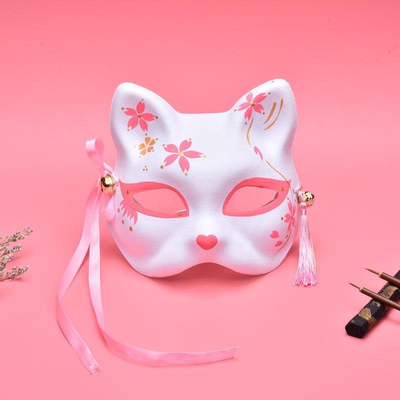 """PINK SAKURA FOX"" MASK N022504"