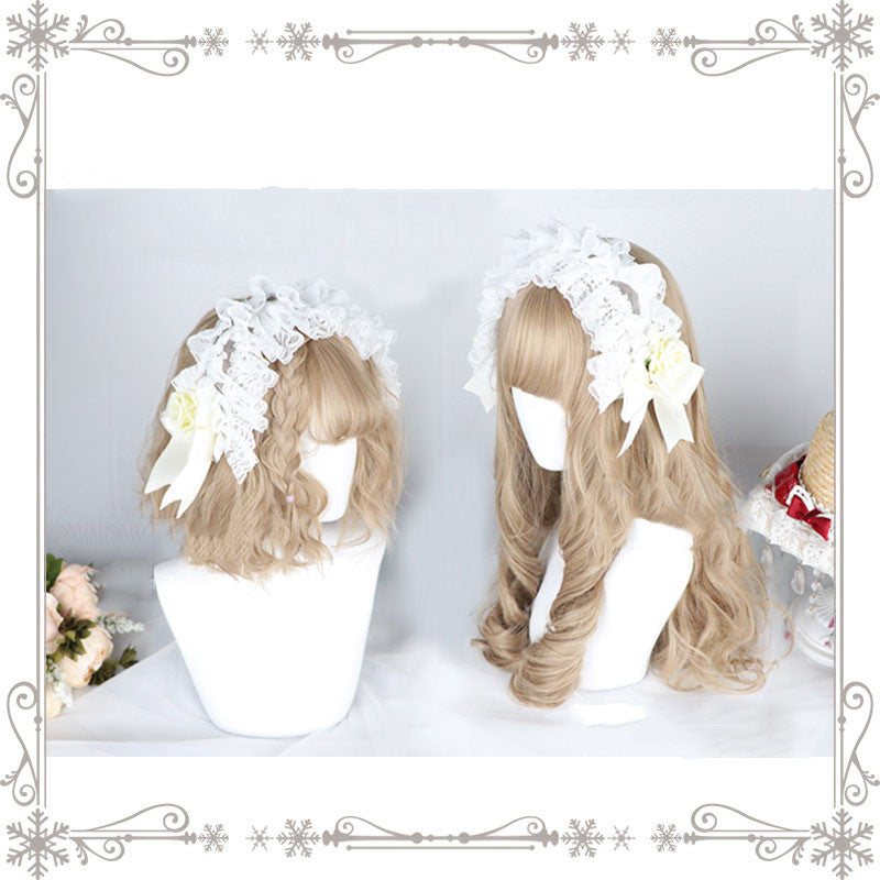 """DREAMCATCHER GIRL SHORT / LONG CURLY"" WIG N090306"
