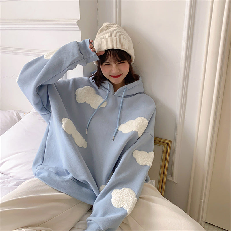 """CLOUDS"" SWEATSHIRT N092806"