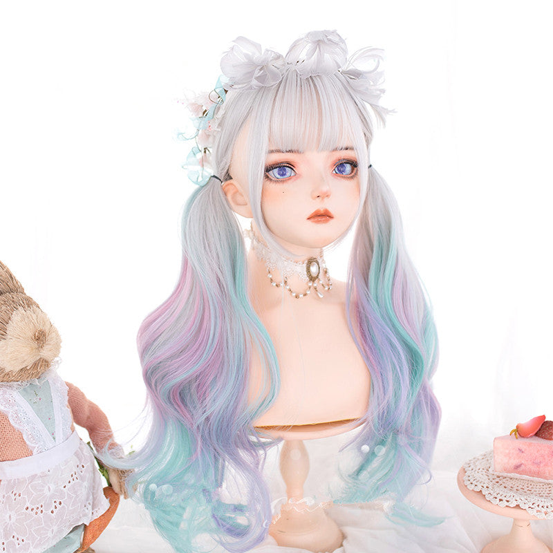"""LOLITA GRADIENT ICE CREAM LONG CURLY"" WIG N080507"