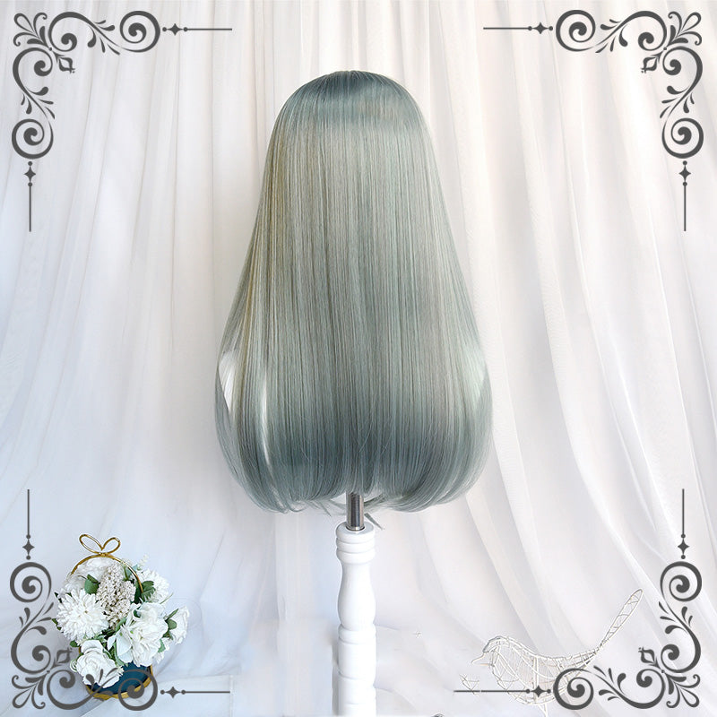 """LOLITA LIGHT GREEN ELF STRAIGHT"" WIG N111707"