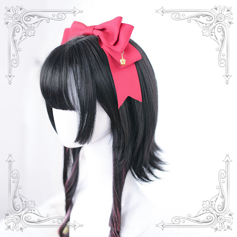 """LOLITA UPTURNED HIGHLIGHTS SHORT"" WIG N121404"