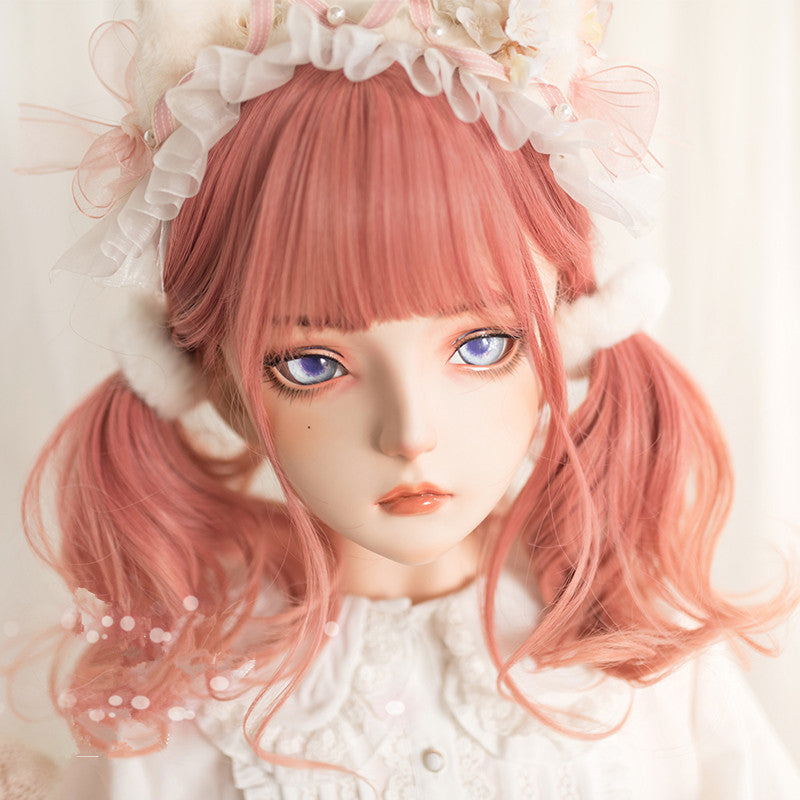 """LOLITA GRADIENT PINK LONG CURLY"" WIG N080506"