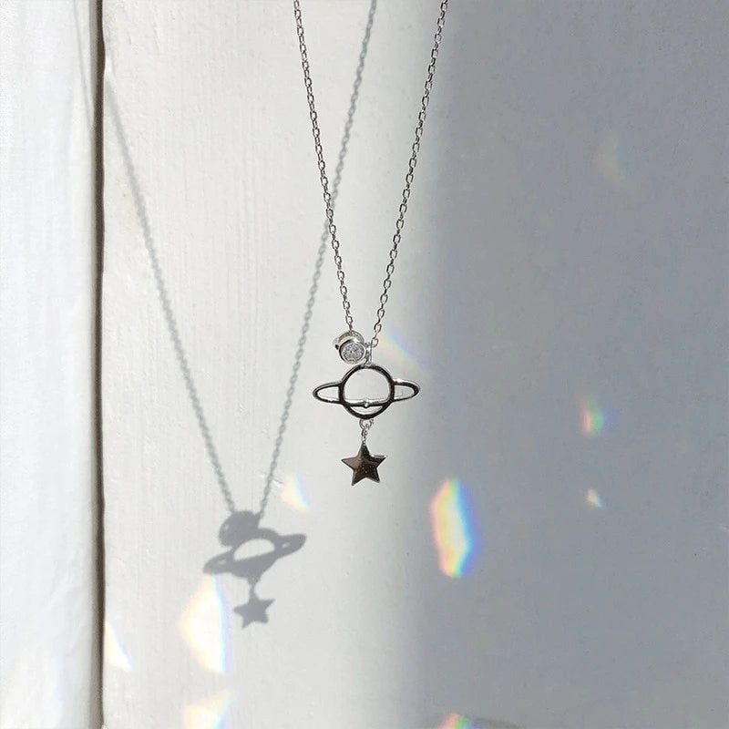 """PLANET MOON"" NECKLACE N011304"