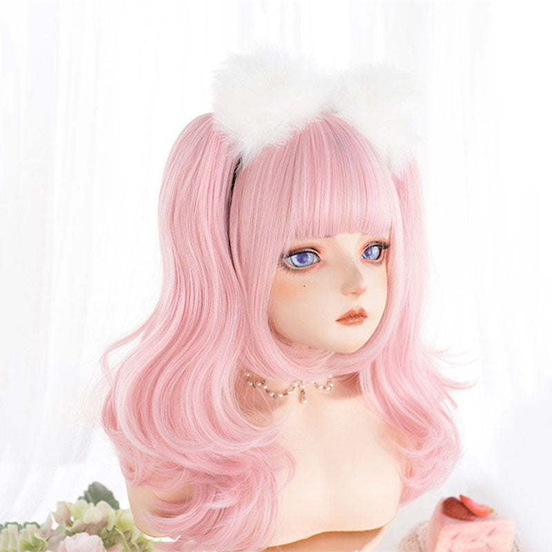 "[@milkiiprincess] ""LOLITA DOUBLE PONYTAIL CURLY"" WIG N090806"