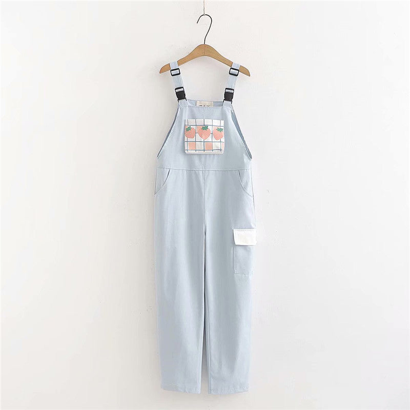 """STRAWBERRY"" OVERALLS N091701"