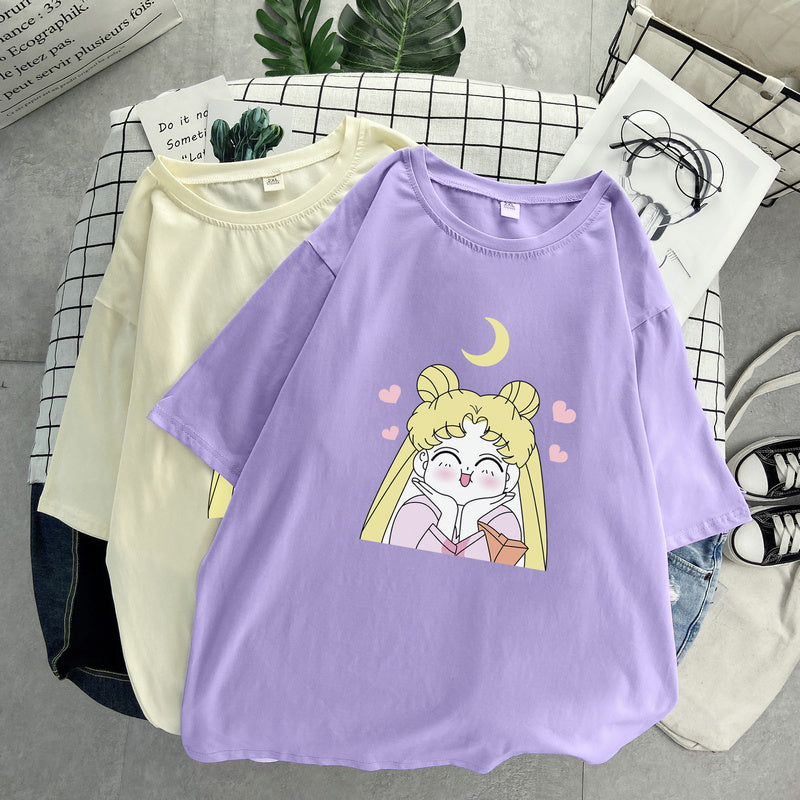 """SAILOR MOON"" T-SHIRT D070410"
