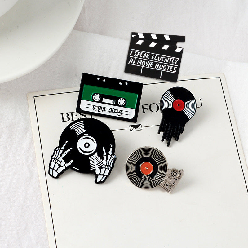 """FIVE RECORD"" PINS N090310"