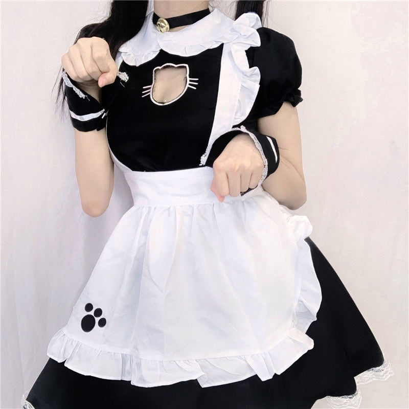"""LOLITA CUTE CAT"" MAID OUTFIT N121601"