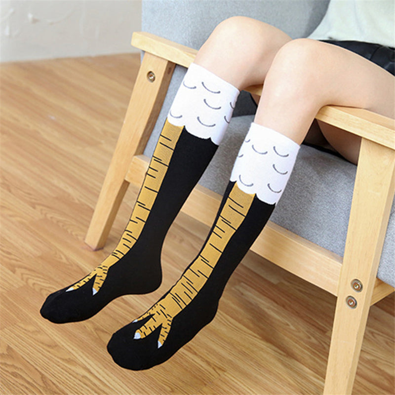 """CHICKEN FEET PRINT"" SOCKS N050707"