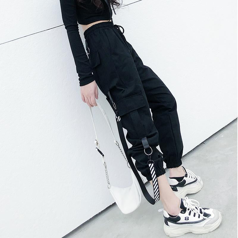 """DARK ELASTIC"" PANTS N072701"