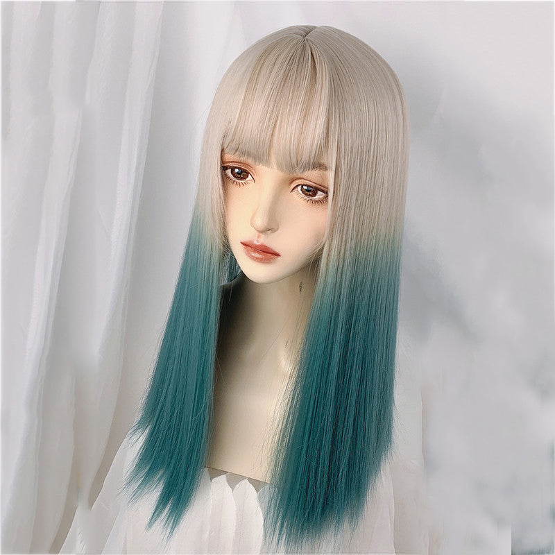 """LINEN GOLD GRADIENT MID-LENGTH"" WIG N101407"