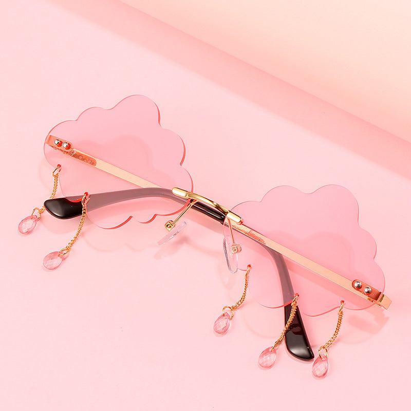 """CLOUDS RAINING"" SUNGLASSES N081406"
