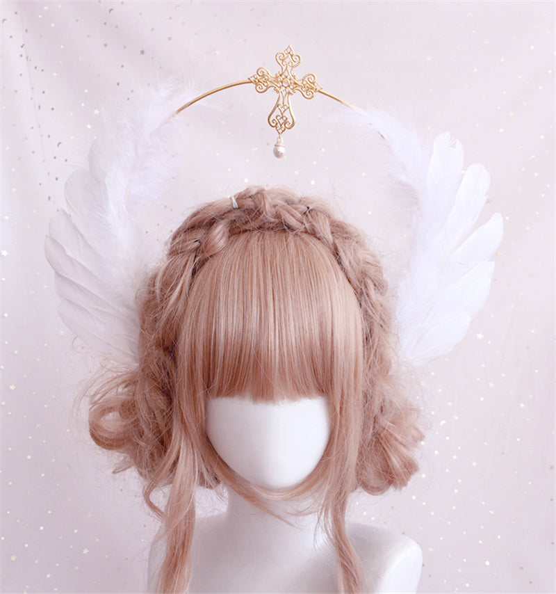 """LOLITA ANGEL WINGS"" HAIR ACCESSORY N081908"