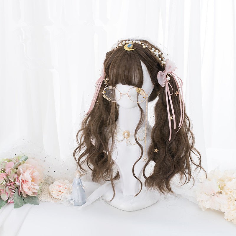"""5 COLORS LONG CURLY"" WIG D052104"