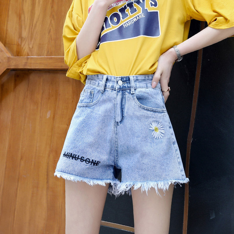 """DAISY DENIM"" SHORTS D052311"