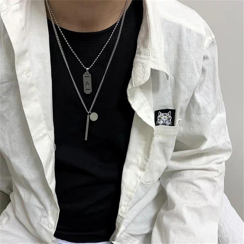 """UNISEX HIP HOP PENDANT"" NECKLACE D052504"