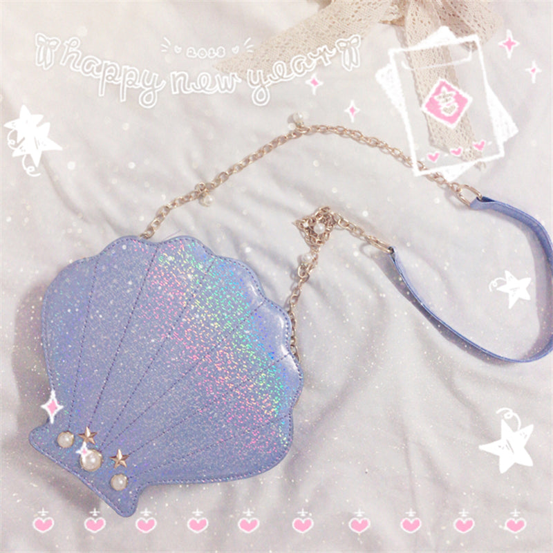 """SHELL PEARL CHAIN"" BAG D050806"