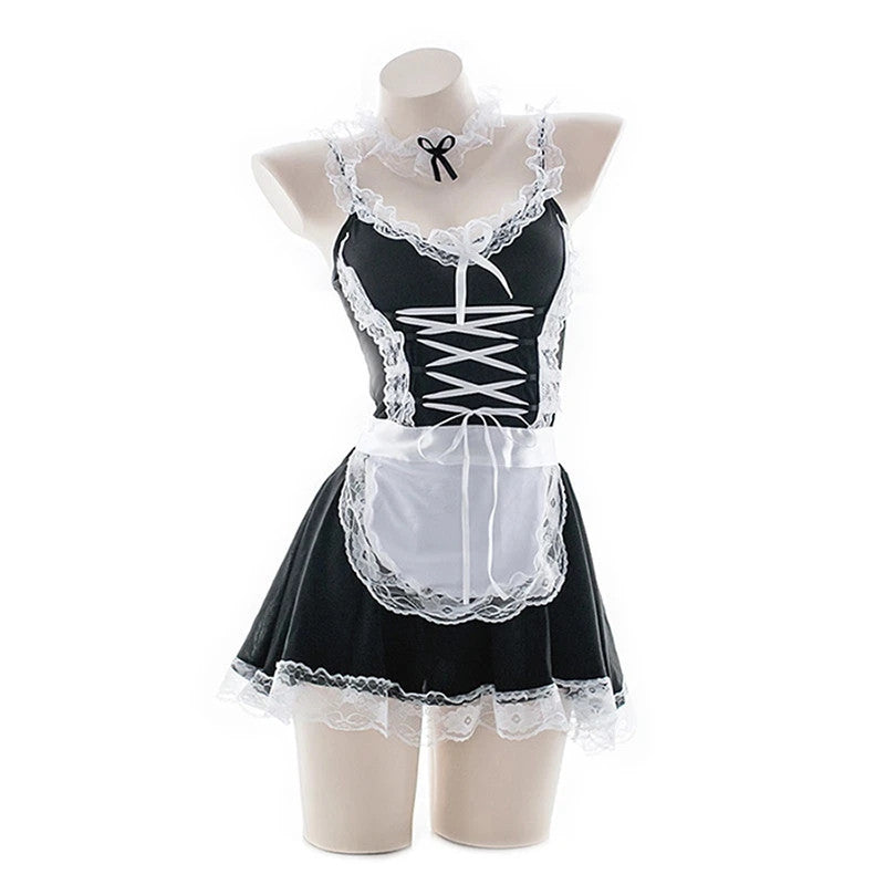 """SEXY LACE COS MAID"" OUTFIT Y042116"