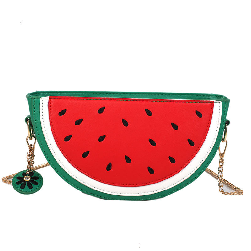 """WATERMELON ORANGE"" SHOULDER BAG D050810"