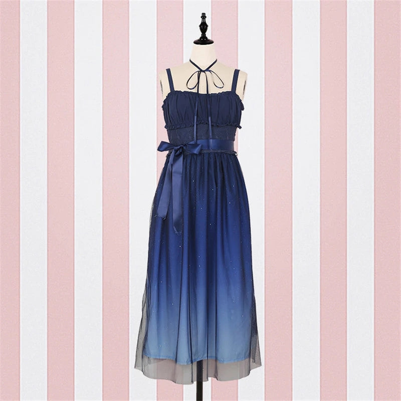 "[@princewelcomematt] ""BLUE STARRY"" DRESS Y042111REVIEW"