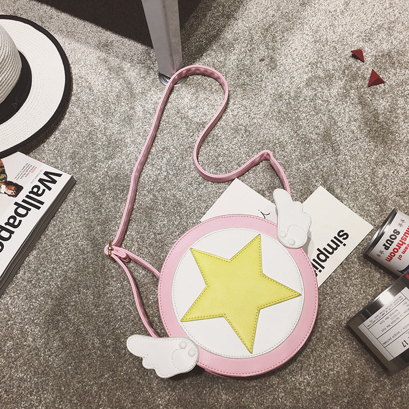"""CUTE MAIDEN SAKURA WINGS"" SHOULDER BAG D072702"
