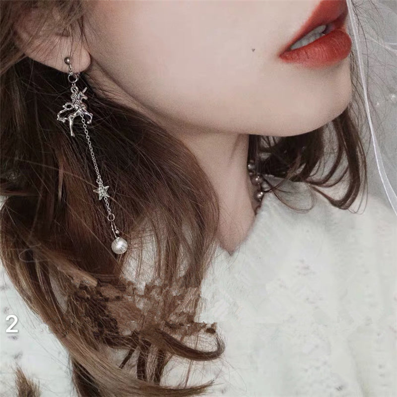 """Unicorn Ear Bone Clip"" Earrings D042215"