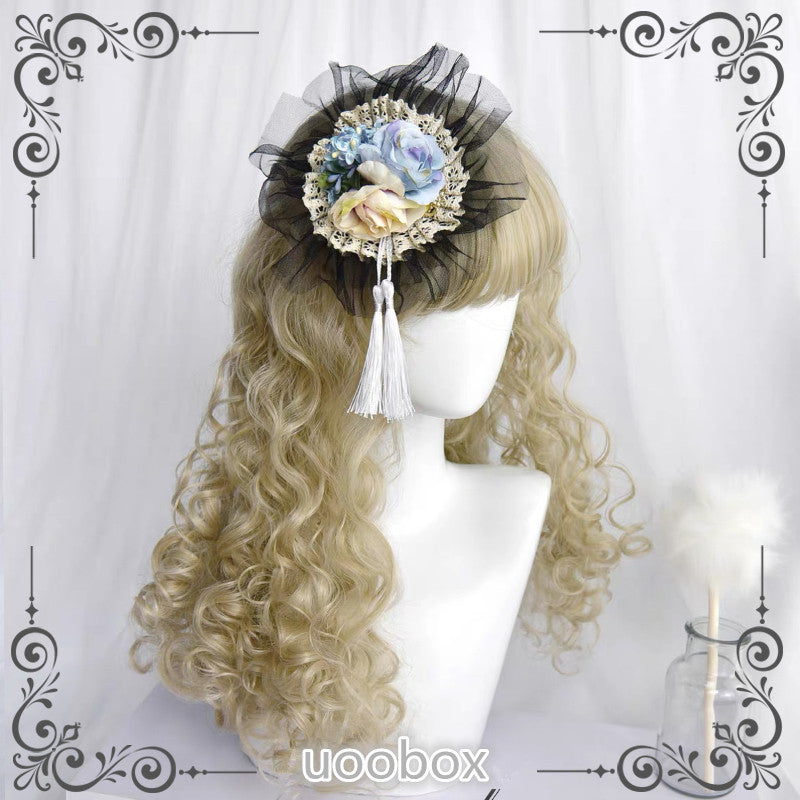 """5-COLOR LOLITA CURLY LONG"" WIG D042003"