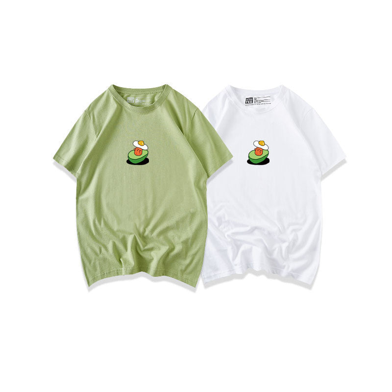 """CUTE CARTOON AVOCADO"" T-SHIRT D042317"