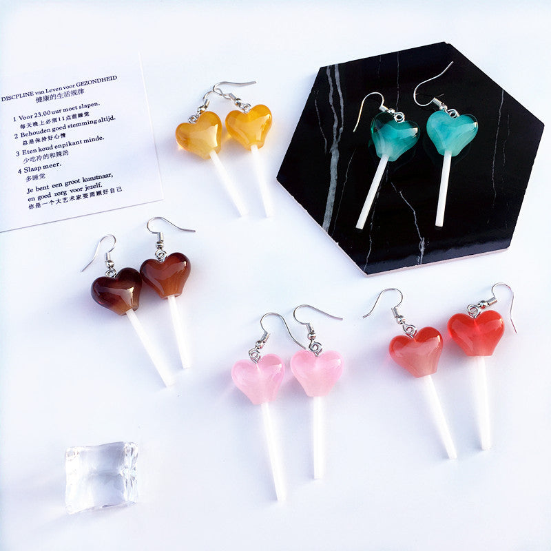 """LOVE LOLLIPOP"" EARRINGS D042309"