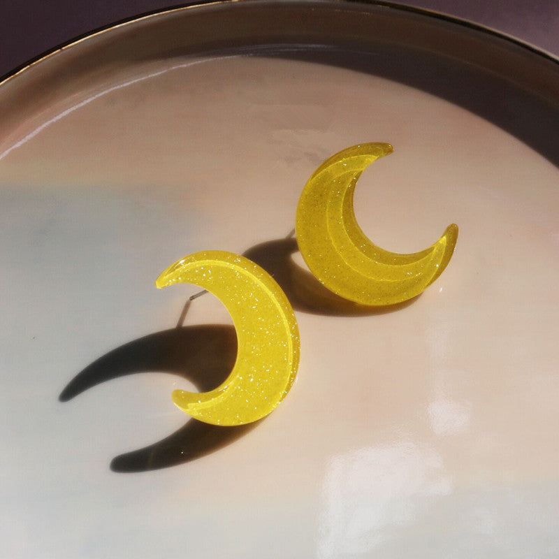 """MOON"" EARRINGS D042204"