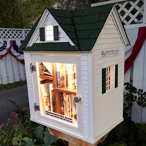 Inspiration for my own little Street Library