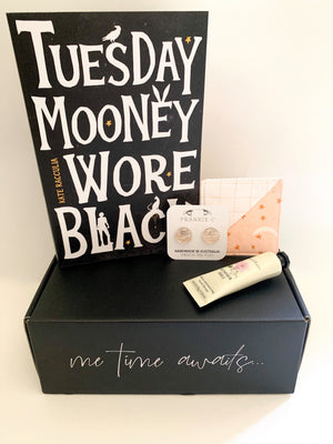 Crime Fiction Gift Box Large | Tuesday Mooney Wore Black, by Kate Racculia