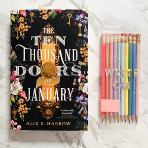 Fantasy Fiction Gift Box | The Ten Thousand Doors of January, by Alix E Harrow