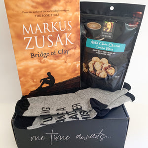 Fiction Gift Box, Large | Bridge of Clay, by Markus Zusak