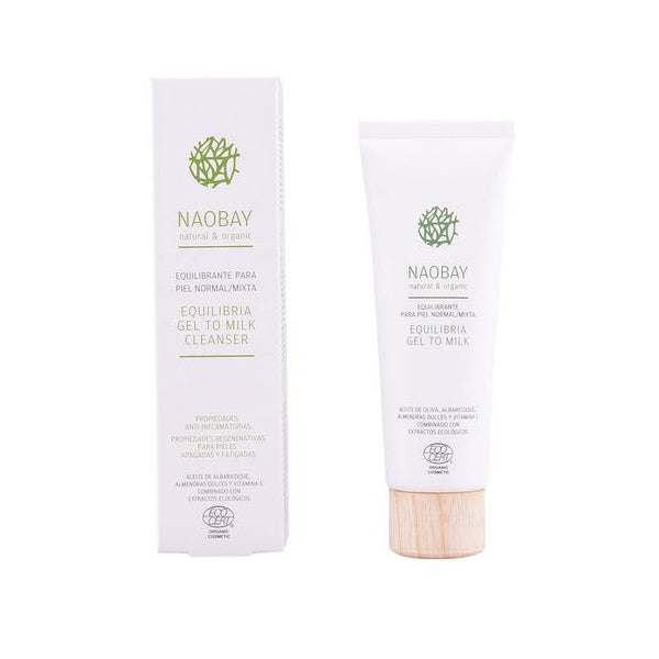 Cleansing Lotion Equilibria Naobay (100 ml) - yubti.com