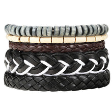 Load image into Gallery viewer, New Fashion Bead Leather Bracelets - yubti.com